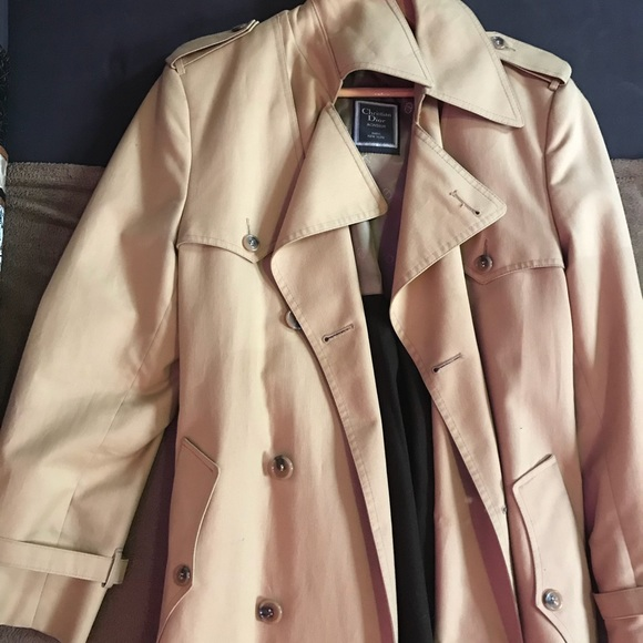 Vintage Dior Trench Coat Preowned/Used by Dior